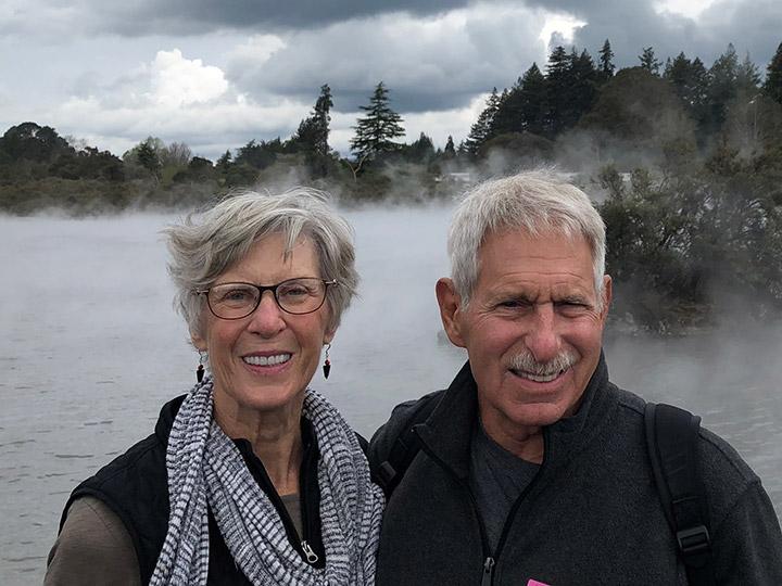 Susan and Bob Paul